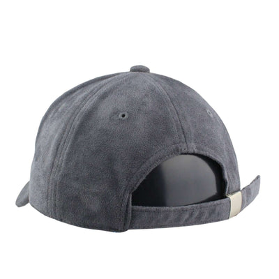 "Retired Numbers Retired Numbers ""Los Doyers"" Gray/Gray Suede Slouch Strapback"