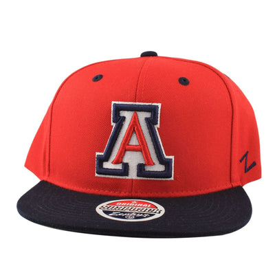 Zephyr Arizona Wildcats Z11 Red/Blue Snapback