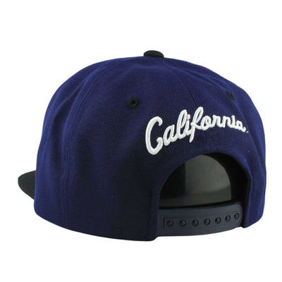 Zephyr California Golden Bears Static Navy/Black Snapback