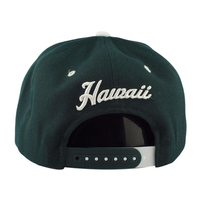 Zephyr Hawaii Warriors Z11 Green/Green Snapback