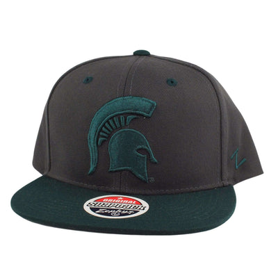 Zephyr Michigan State Spartans Gray/Green Snapback
