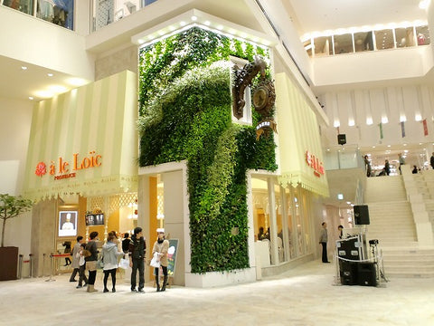 high quality green wall singapore