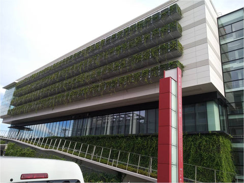 TsuruPower Japan Building Facade B