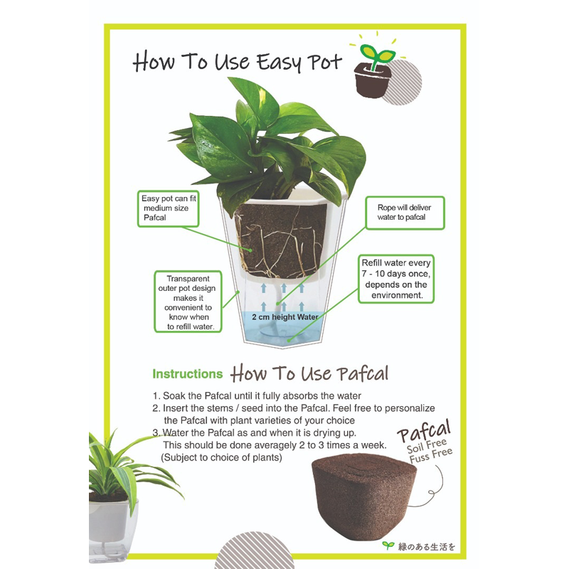 Self-Watering EasyPot - Midorie Singapore