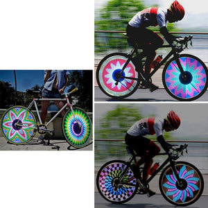 Super Bright Waterproof Bike Wheel LED Lights