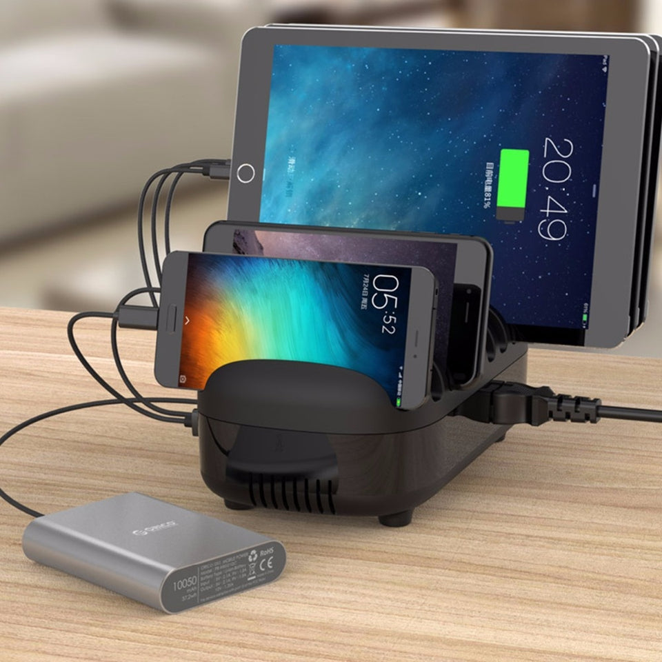 10 Ports USB Charger Station