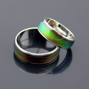 Stainless Ring Changing Color Emotion/Mood Ring
