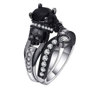 Skull Ring Set For Women & Men