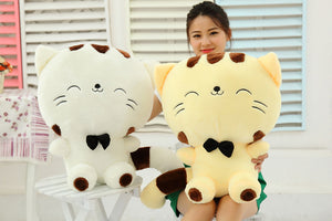 20CM Cute Cat with Bow Plush Doll