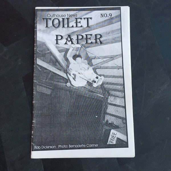 Toilet Paper #9 Outhouse Skateshop