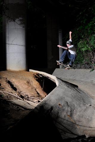 Ollie in the ditch Colby Milsap