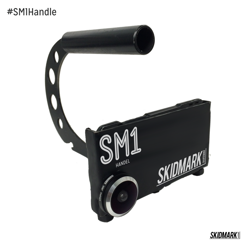 #SM1Handle | The Worlds Strongest Smart Phone Holder for Filming - Skidmark Skatemag LLC  - 2