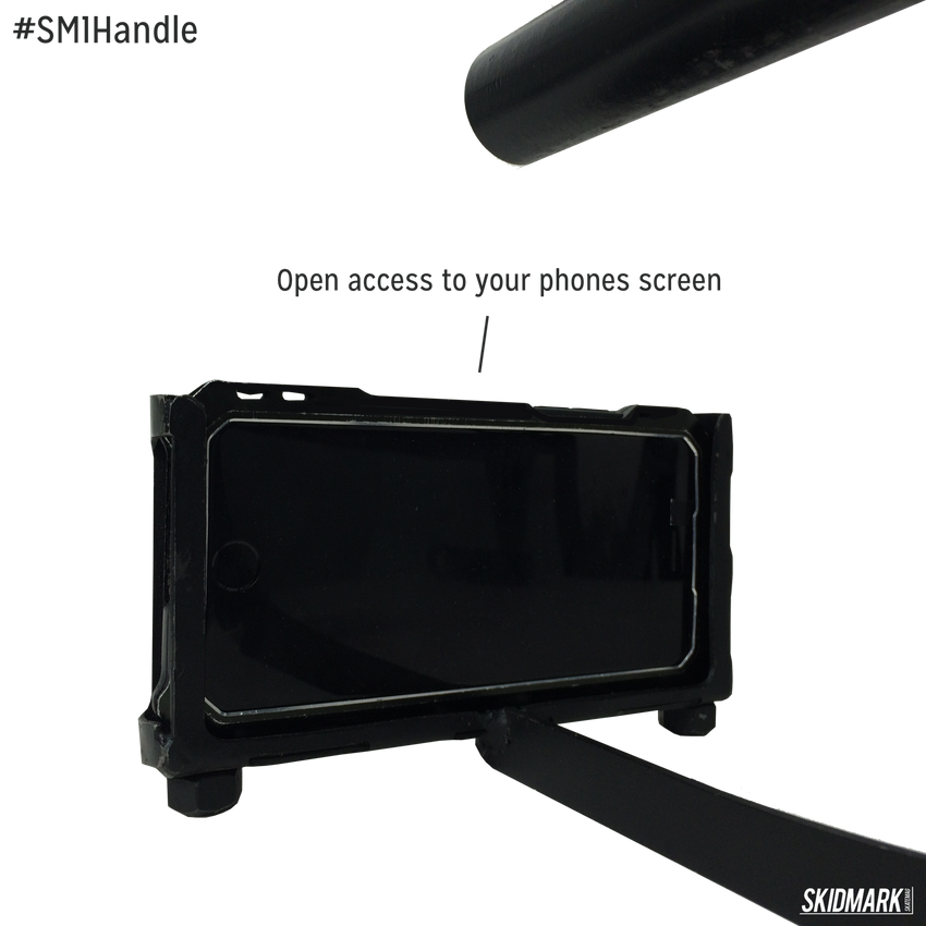 #SM1Handle | The Worlds Strongest Smart Phone Holder for Filming - Skidmark Skatemag LLC  - 8