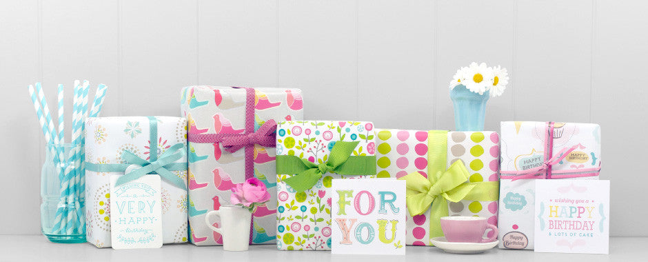 Beautiful wrapping paper for all gift wrapping