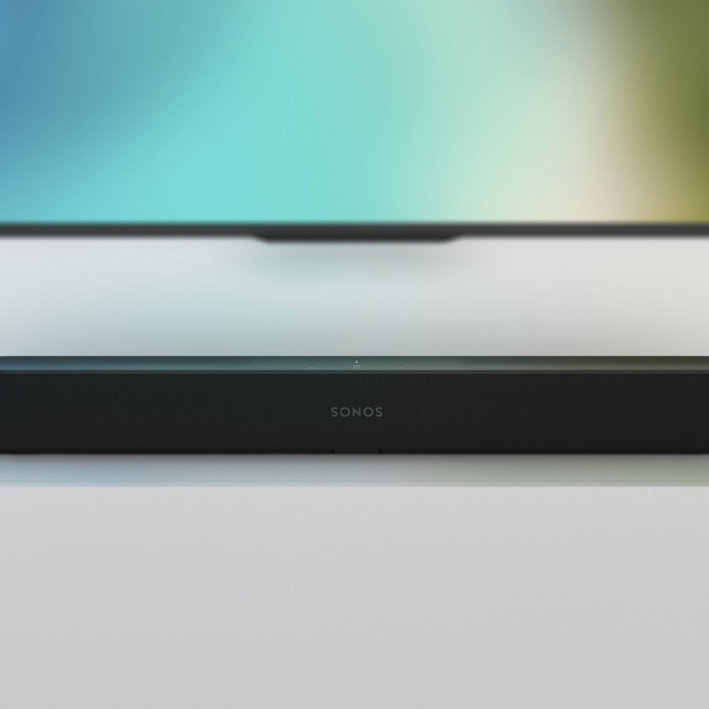 Sonos Beam: The smart, compact soundbar for your TV.