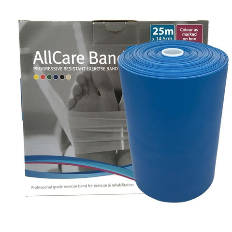 Allcare Resistance Band 25m Blue - X-Firm Resistance