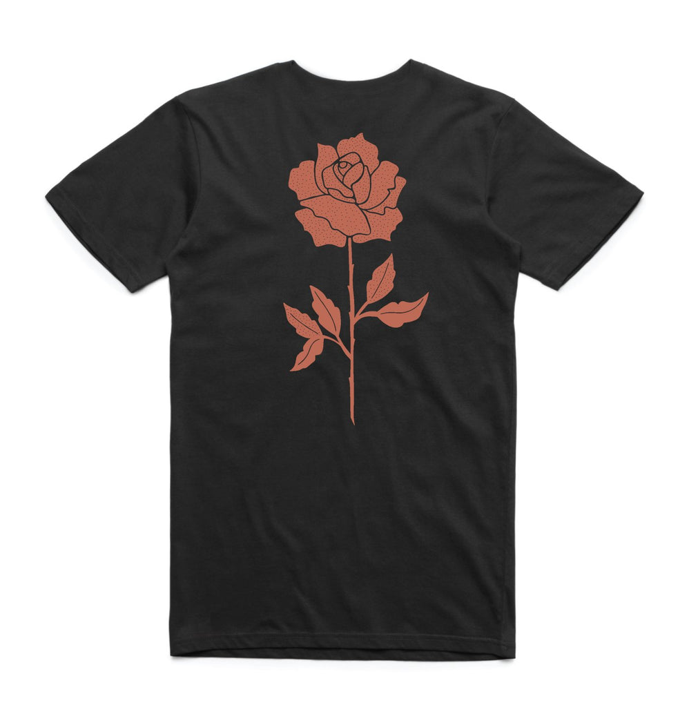 In Bloom - In Bloom 'Rose - Black' Tee - T-Shirt - Stock & Supply Stores