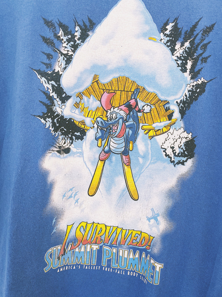 Vintage Disney Summit Plummet T-Shirt - Medium