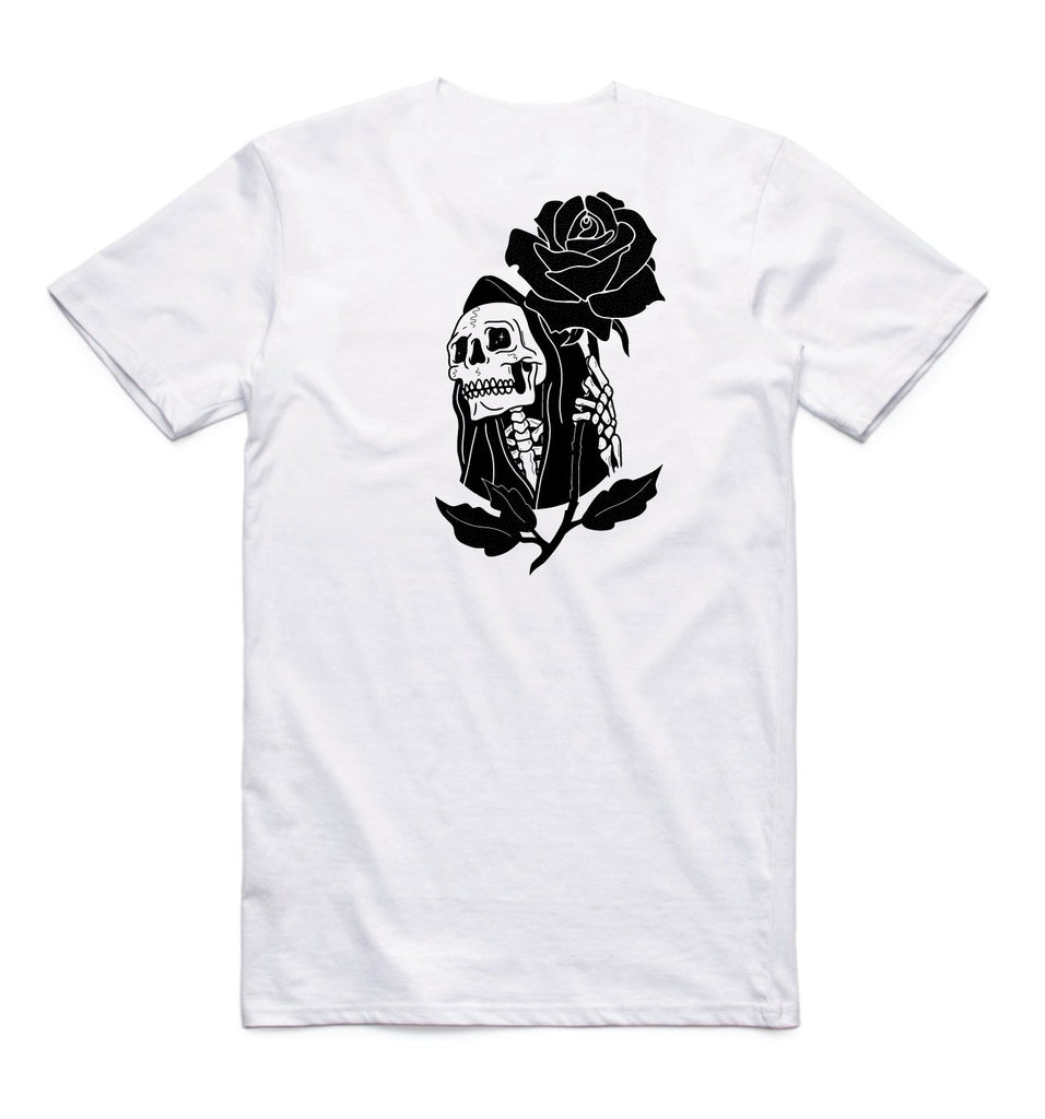 In Bloom - In Bloom 'Reaper - White' Tee - T-Shirt - Stock & Supply Stores