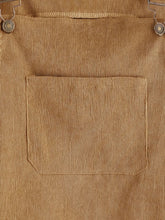 Load image into Gallery viewer, Corduroy Pinafore Dress - Tan