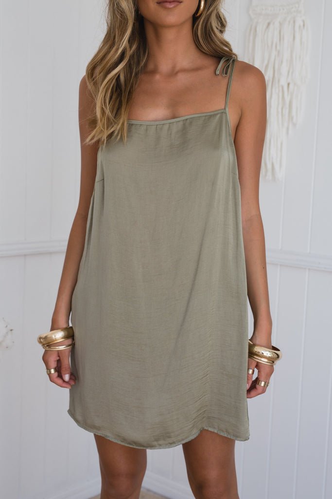 Silky Cami Dress