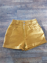"Load image into Gallery viewer, Pre-loved ""Nuovo"" 90s Denim Shorts. Size 7-8"