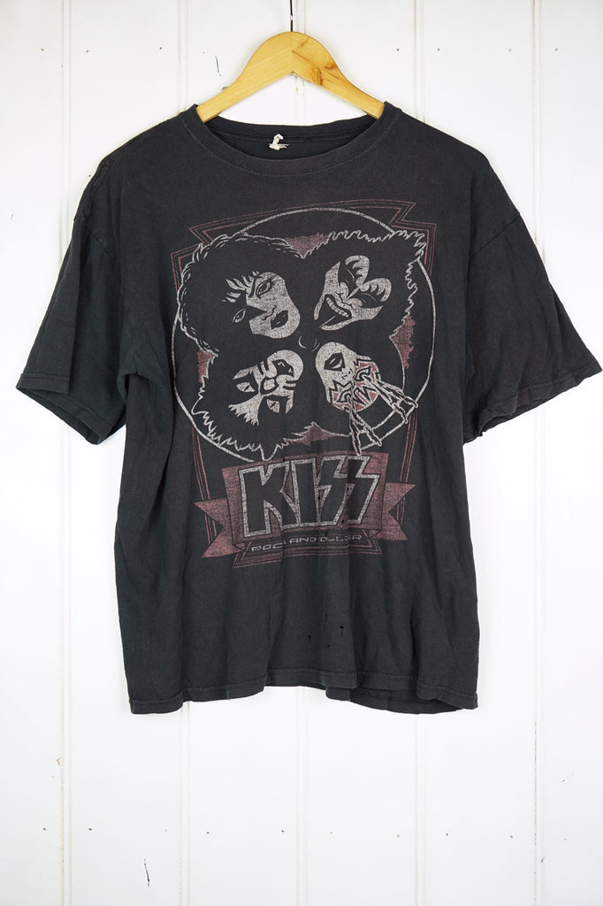 Vintage Music - KISS Black Tee - Large