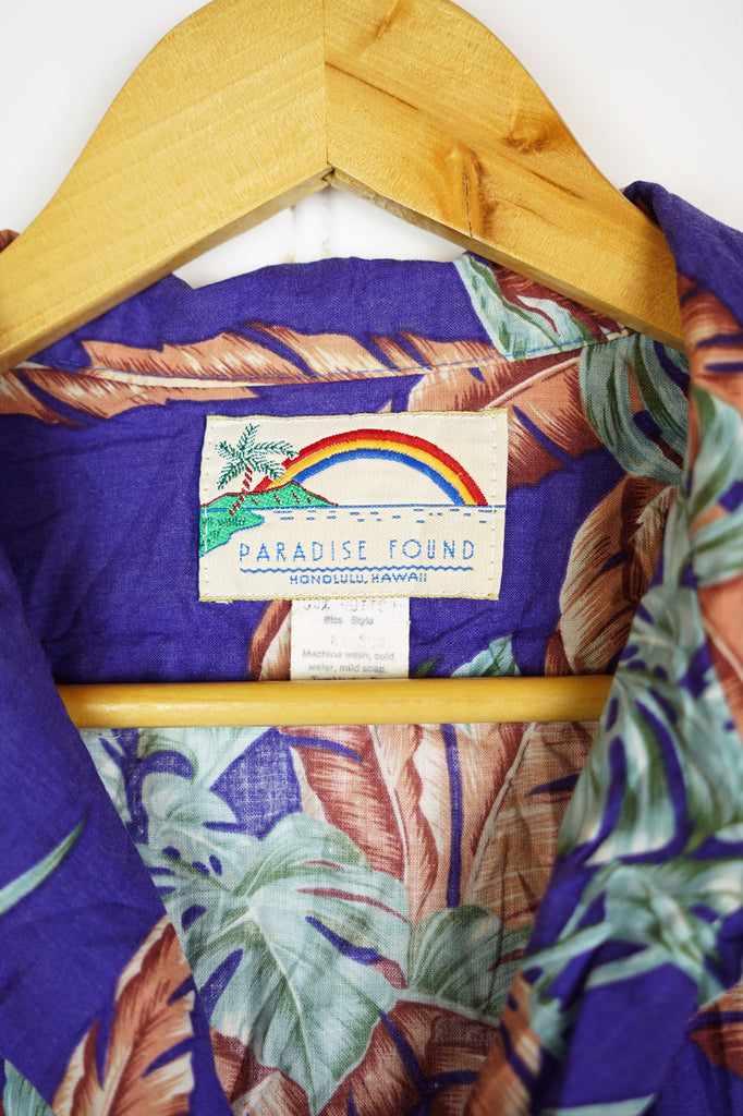 Vintage Party Shirt - Paradise Shirt - XLarge