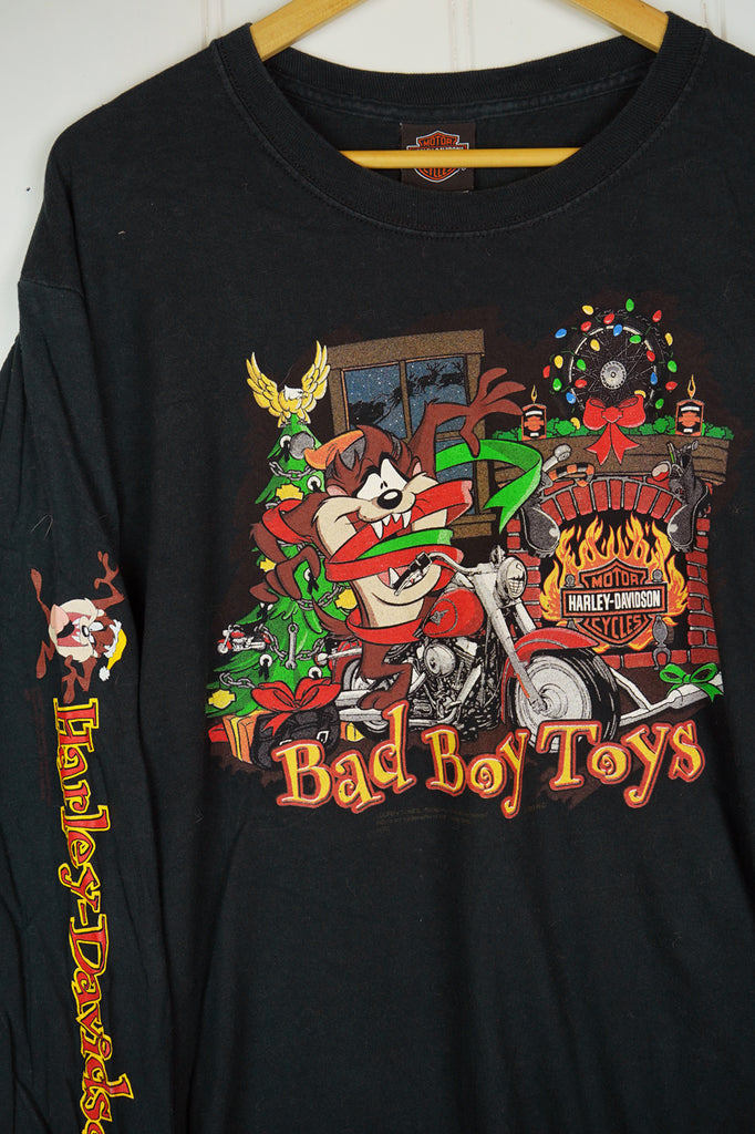 Vintage Harley - Bad Boys Black Tee - Large