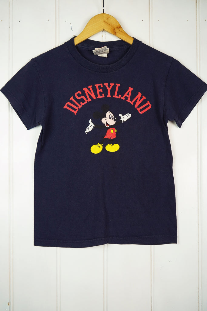 Vintage Cartoon -  Disney Land Tee - XXSmall