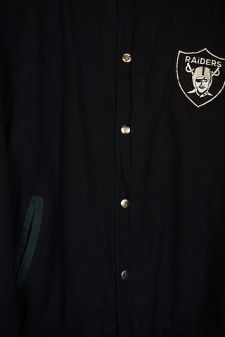 Vintage Sports -  Raiders Jacket - XLarge