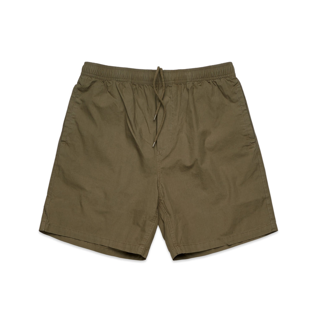 All Day Cotton Short - Army Green