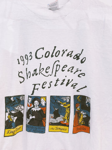 Vintage 93 Shakespeare Fest Crop - Medium