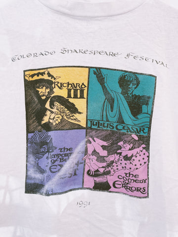 Vintage '91 Shakespear Fest Crop - Small