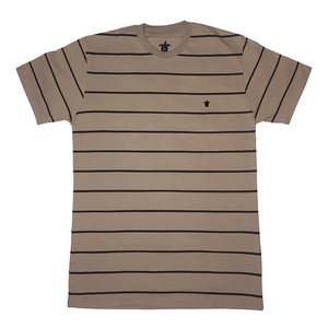 Turtl3 Co 'Stripe - Khaki' Tee