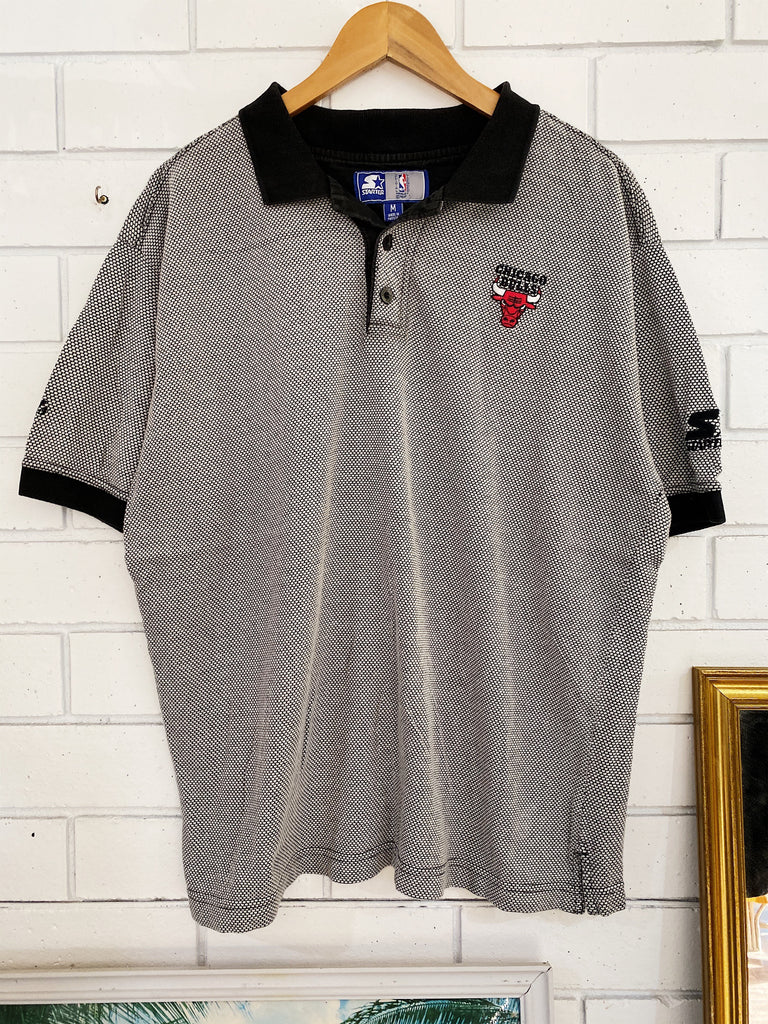 Vintage Sports - Starter Chicago Bulls Polo - Medium