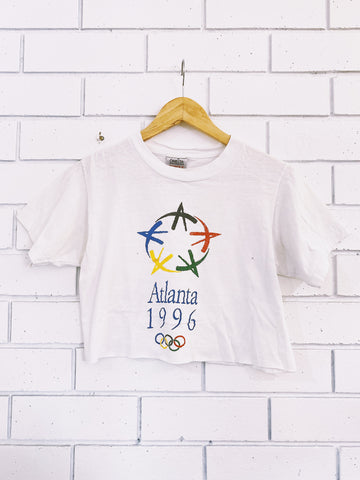 Vintage Atlanta 96 Olympics Crop - Small