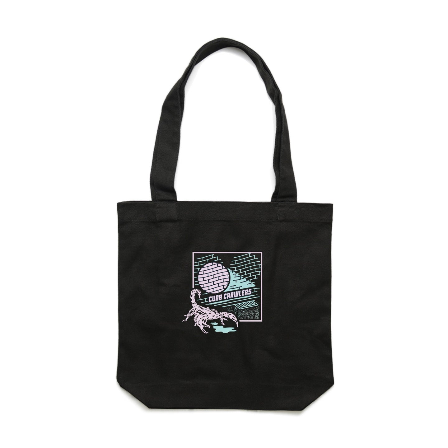 Stale Brand 'Curb Crawlers - Black' Tote