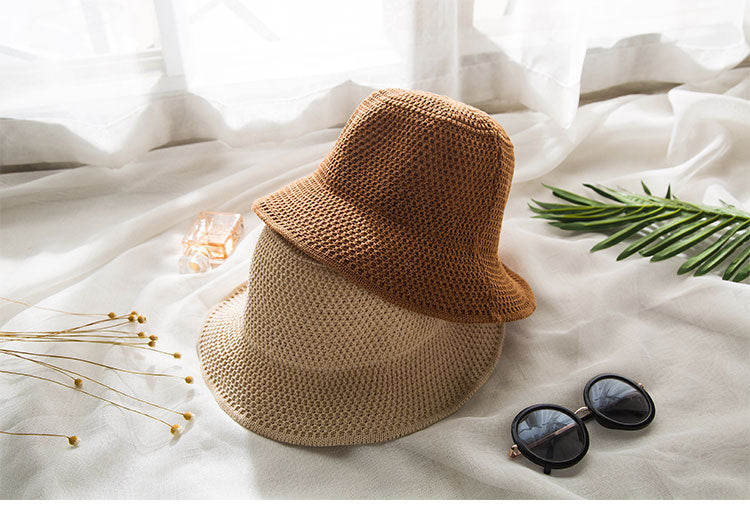Woven Bucket Hat - Natural