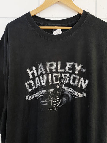 Preloved Harley - Fort Hood Black Tee - 3XLarge