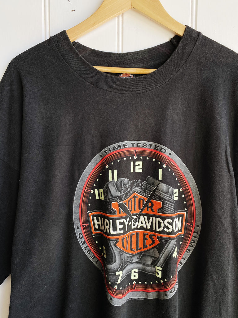 Vintage Harley - Cajun Cycles Black Shirt - 3XLarge