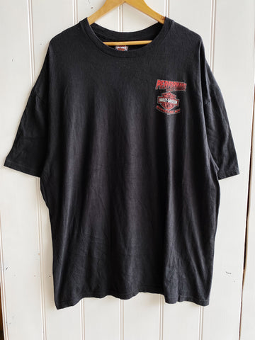 Preloved Harley - Performance Syracuse Black Tee - 2XLarge