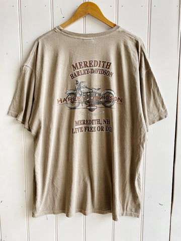 Preloved Harley - Meredith Tan Tee - 2XLarge