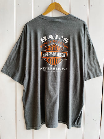 Preloved Harley - New Berlin Grey Tee - 3XLarge