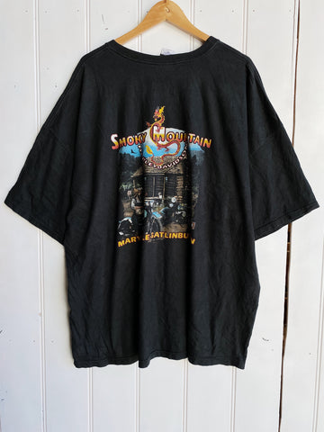 Vintage Harley - Smoky Mountain Black Tee - 4XLarge