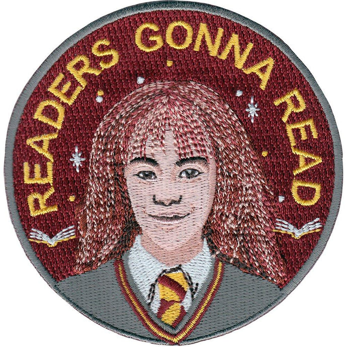 La Barbuda - La Barbuda 'Hermoine Granger' Iron On Patch - Patches & Pins - Stock & Supply Stores