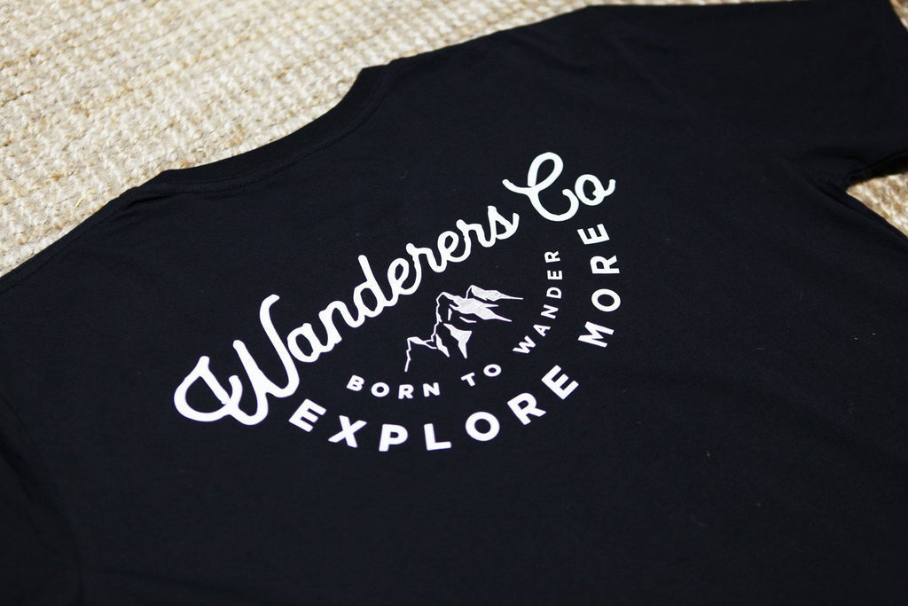 Explore More Tee - Black