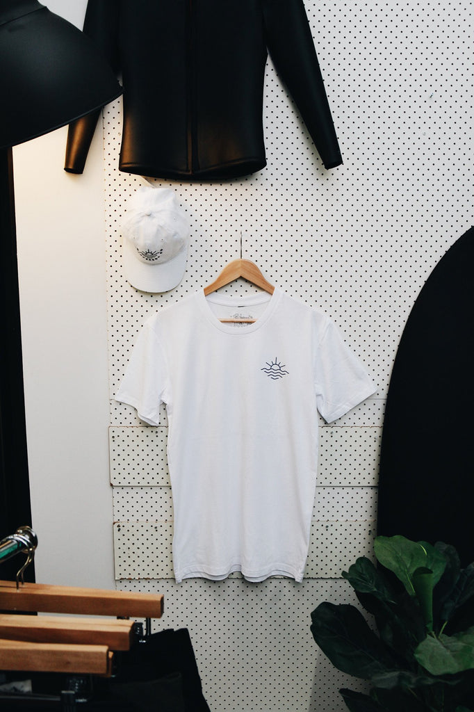 Surf Club Tee - White