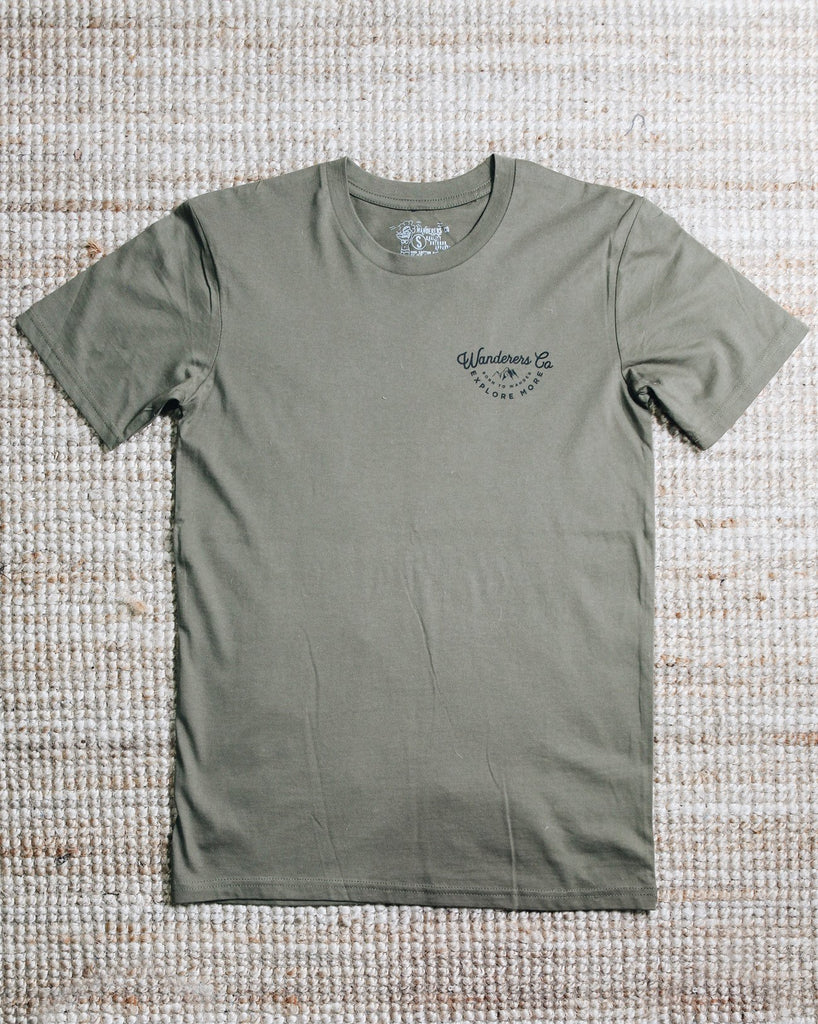 Explore More Tee - Army Green