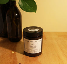 Load image into Gallery viewer, Nomadic Scents - #001 - Vetiver / Leather / Campfire Smoke / Amber - 150ml Candle
